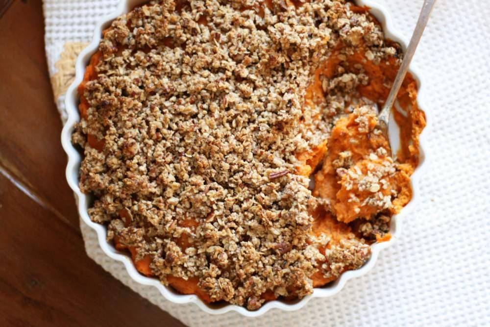 recipe: sweet potato casserole with almond milk [39]